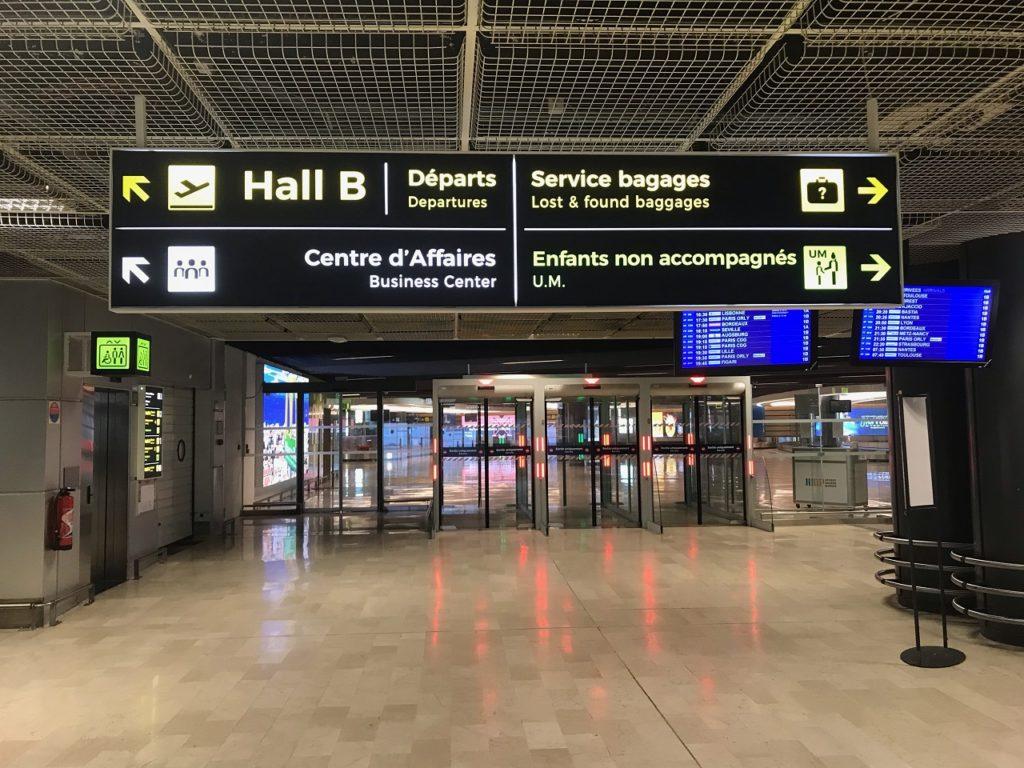 taxi hall B aéroport marseille provence